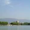 The Mountain Range To The South Of Jiujiang