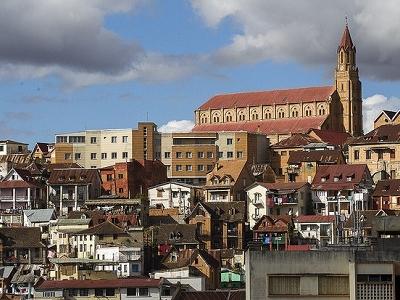 John Baptiste Church On Faravohitra Hill - Antananarivo