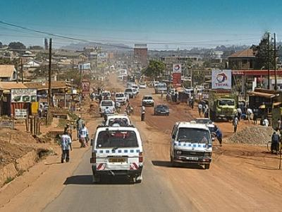Kampala Main Street View