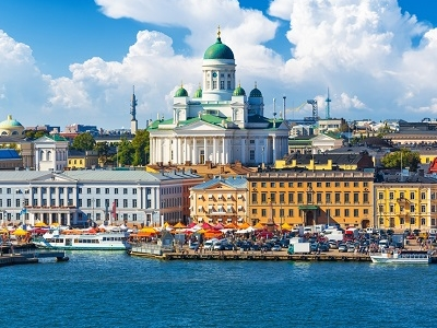 Kauppatori Market Square - Old Town Pier At Helsinki