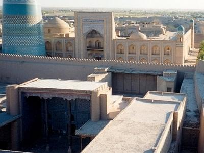 City Walls Of Khiva
