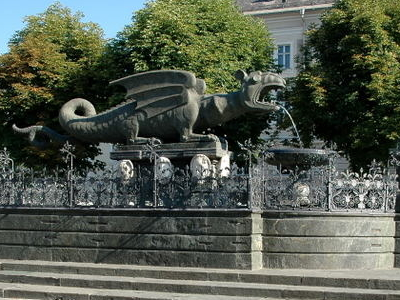 Klagenfurt  Lindwurm Und  Herkules