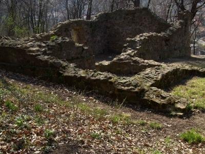 Remains Of Medieval Chapel In Komló