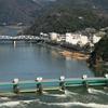 Kiso River And Bridge