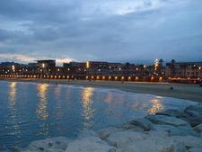 La Barceloneta Beach Eveing