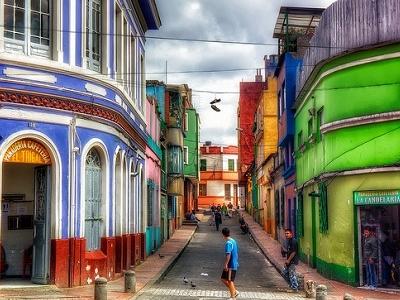 La Candelaria Street View - Bogota - Colombia