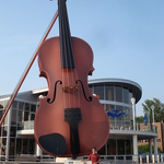 Largest Ceilidh Fiddle
