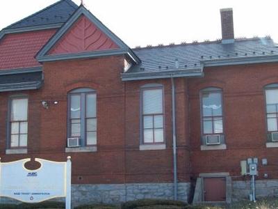 Laurel  Railroad  Station  West  Side