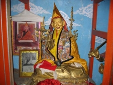 Statue Of Trijang Rinpoche Tutor