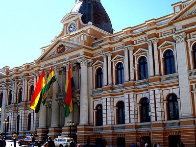 Legislative Palace Of Bolivia.