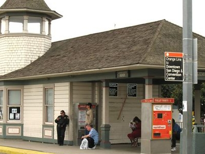 Lemon Grove Trolley Station