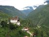 Lhuentse Dzong Bhutan