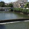 Litheos River Flowing Through City Of Trikala