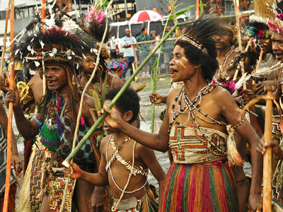 Local Tribes Perform Dance - Guinea