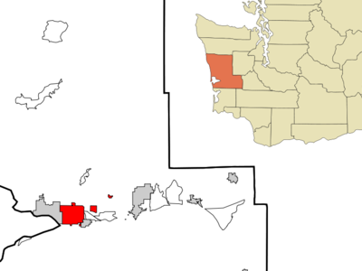 Location Of Aberdeen In Grays Harbor County Washington