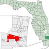 Location Of Davie In Broward County Florida