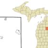 Location Of Houghton Lake Michigan