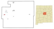 Location Of Manzano New Mexico