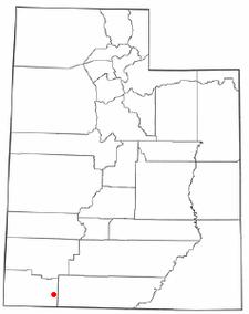 Location Of Springdale Utah