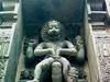 Lord Narasimha Rock Statue Backyard Simhachalam Temple