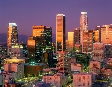Los Angeles Downtown Skyline CA