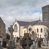 The Old And New Priory In Loughrea