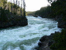 Lower Yellowstone Falls - Wyoming - USA
