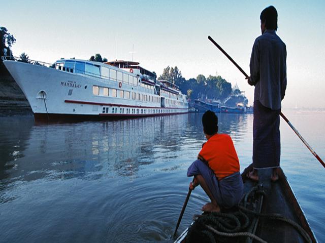 Ayeyarwaddy River Luxury Cruise Tour Photos