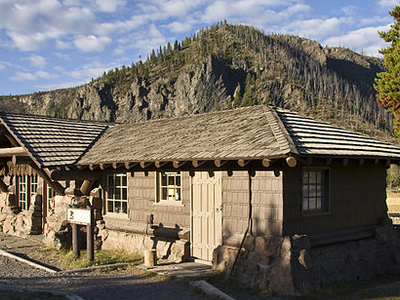 Madison Museum - Yellowstone - Wyoming - USA