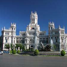 Madrid La Cibeles Square