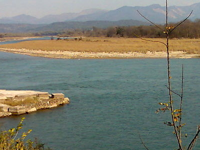 Main Ganga River