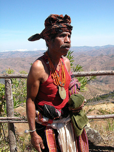 Man In The Traditional Dress - East Timor
