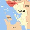 Map Of Samar Showing The Location Of Calbayog City