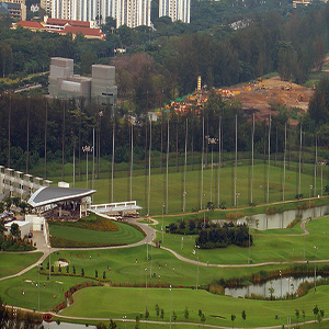 Marina Bay Golf Course, Singapore