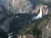 Nevada And Vernal Falls As Seen From Above