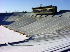 Michigan Stadium Winter