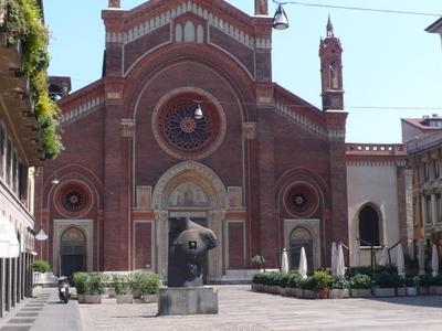 Milano  Santa  Maria Del  Carmine