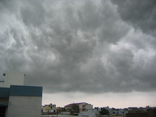 Monsoon Clouds Lucknow