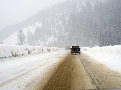 Montana Winter View