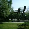 Monument In Center Of Ruma