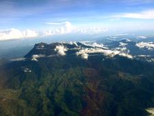 Mount Kinabalu Aerial View