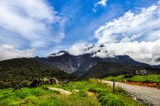 Mount Kinabalu From Below