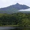 Mount Rishiri Seen From Otadomari-numa