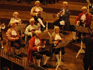 Mozart Concert in Historical Costumes + Typical Viennese Dinner Photos