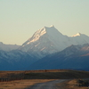 Aoraki/Mt Cook At Dusk Viewed From The Tekapo Canal