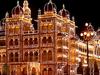 Mysore Palace Illuminated For Dasara Festival