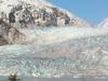 Mendenhall Glacier And Frozen Mendenhall Lake