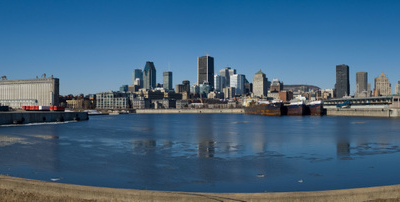A Section Of The Port Of Montreal