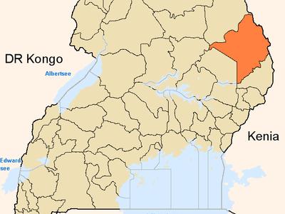 Moroto  District  Uganda