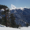 Skiing At Mount Baldy